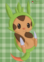 650- Chespin by Aven-Mochi