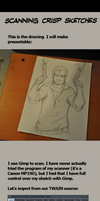 HOW TO SCAN SKETCHES by Esktasy