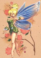 Tinkerbell by coloring