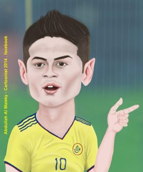 james rodriguez by abbod