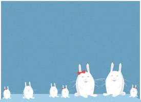 Stupid Bunnies by surlana