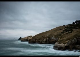 Tunnel beach by shadowfoxcreative