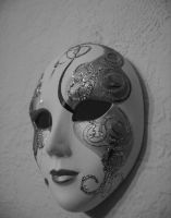 Venetian mask by sigini