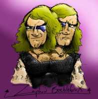 Zaphod Beeblebrox by Metal-Truncator