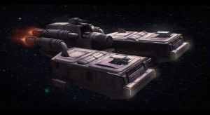 Star Wars Corellian Transport Commission by AdamKop