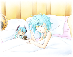 [Elsword] Sleeping Child by ClairSH