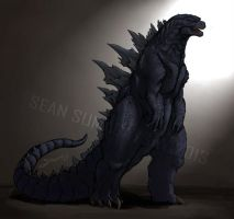 Godzilla 2014: The King Returns by SeanSumagaysay