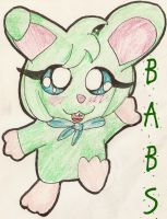 AT: Babs the Bunny...Ham X3 by Lolly-pop-girl732