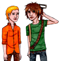 Chris and Gregory by Toejones