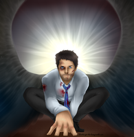 BAMF!Castiel by NellyMonster