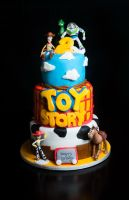 Toy Story Cake by KayleyMackay