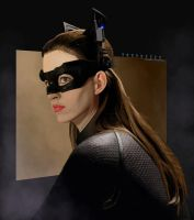 Catwoman by truvneeck