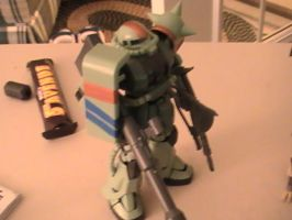 ZAKU 2 Squall Custom by Squall179