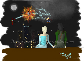 Loki and Elsa by BronyOnABudget