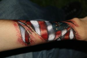 Patriotic Scar by aregato