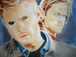 Dean and Sam Pt 3 by JH-creator