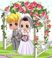 Another RE wedding by Flippygirls19