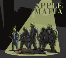 Apple Mafia by Azawindam
