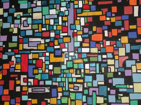 Abstract Squares 1 by mpe-art