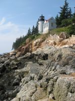 Bass Harbor Lighthouse 3 by Reyphotos