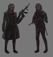 Spectre Soldiers - Commission by JelArts
