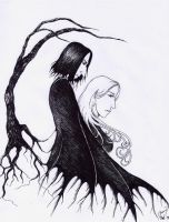 Severus and Lily by renaissancegirl14