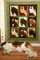 Horse Quilt by unicornslave