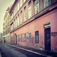 a street by siby