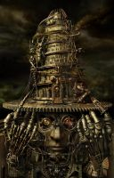 Brain Tower by Almacan