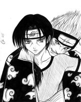 Itachi x Kisame by Autumn-Sacura