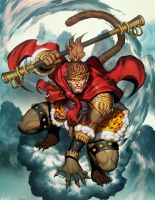 Sun Wukong by GENZOMAN