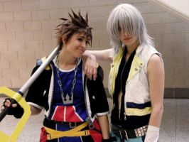 Sora and Riku by KellyJane
