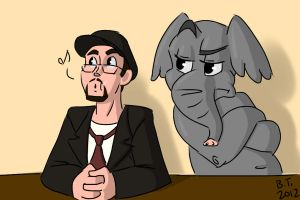 NC: Elephant in the Room by BThomas64