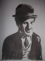 Charlie Chaplin by DarkSheGum