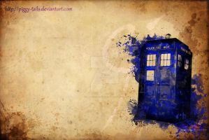 Tardis by piggy-tails