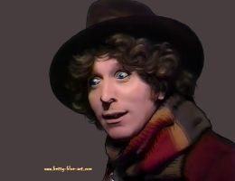 Tom Baker paintover by LYazoo