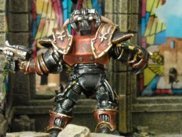 Red Corsairs Daemon Prince by Insuppressible