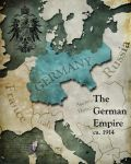 Civilization 5 map: Germany by Beastysakura