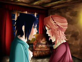 SasuSaku Vampire Series: Say Ahhh by Zakuuya