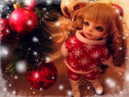 Chloes First Christmas by princessmoony
