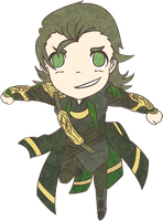 Chibi Loki by Re-Rei