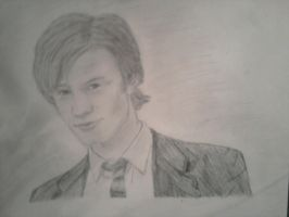Matt Smith Drawing by MagicalMayhem7
