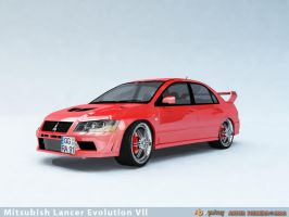 Mitsubish Lancer EVO Vll by ART-havoc