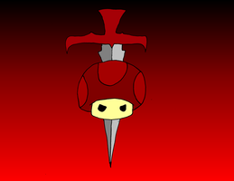 Flag of the Fungi Empire by mortimermcmirestinks