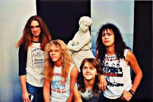 Metallica in 1985 by X-ploder