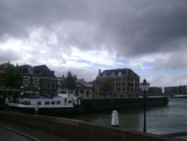 Ships from the harbour of Dordrecht by TammuzAsmodeus