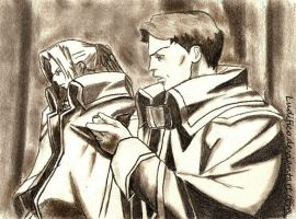 Abel and Professor by Ludifico