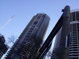 Sydney Buildings1 by miorio
