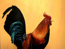 Rooster by ValerieMuse