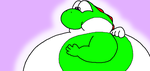 Even more fat yoshi goodness by GyRoEsEhNi
